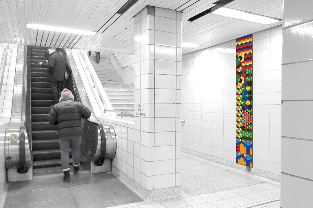 SHERBOURNE STATION TTC Easier Access and Second Exit Public Art Commission (Untitled)
