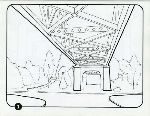 Colouring Under the Vancouver Viaducts